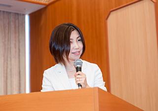 大分 整理収納アドバイザー 藤田郁子 セミナー登壇風景